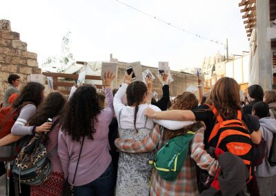 PRAYING WITH WOMEN OF THE WALL