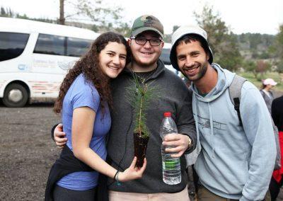 Tu B'shvat - planted trees