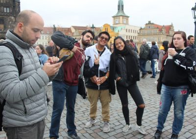 Just a fun picture from charles bridge