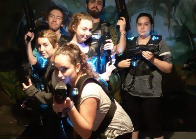 Laser Tag Team A