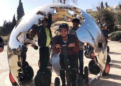 Segway tour through Jerusalem