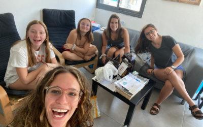 First week in the Tel Aviv summer