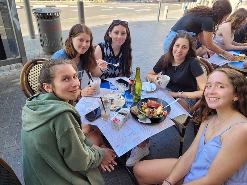 Hebrew coffee activity