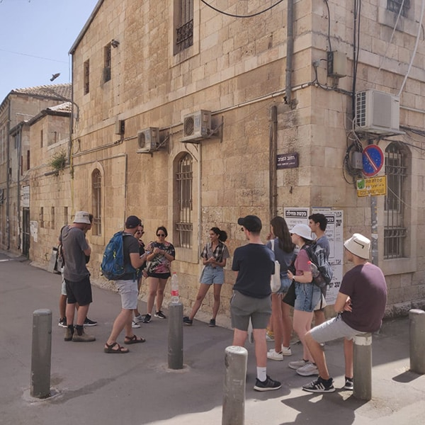 Walking in the streets of Nachlaot