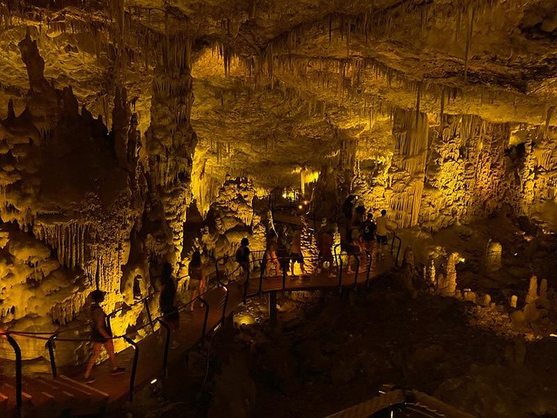 Stalactite caves