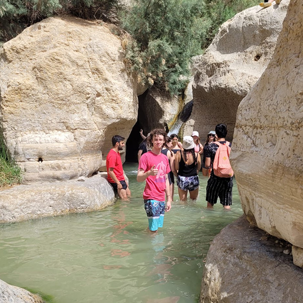 Dead Sea to the largest oasis in the country: Ein Gedi