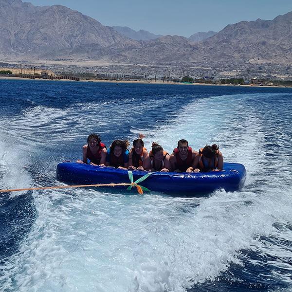 Tubing in Eilat