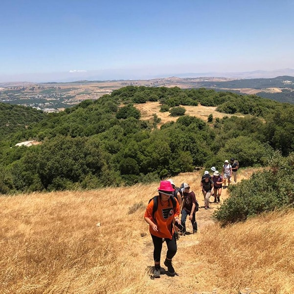 Hiking along the Israel National Trail