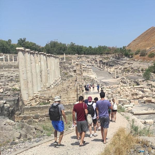 Beit she'an national park