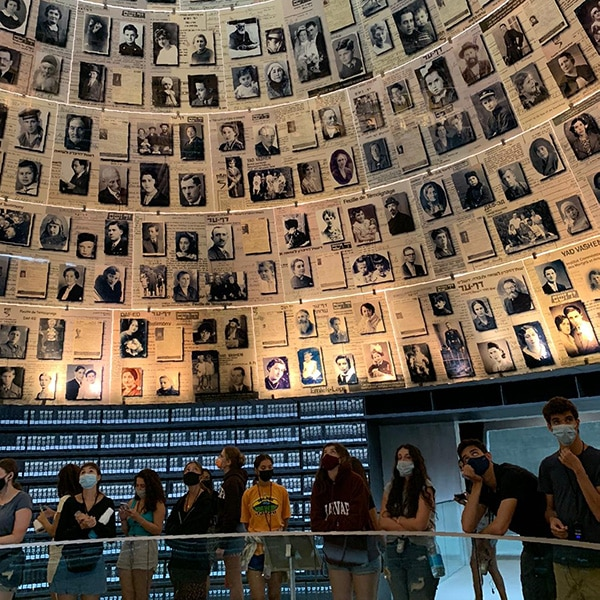 Yad vashem, israel's official memorial to the victims of the holocaust