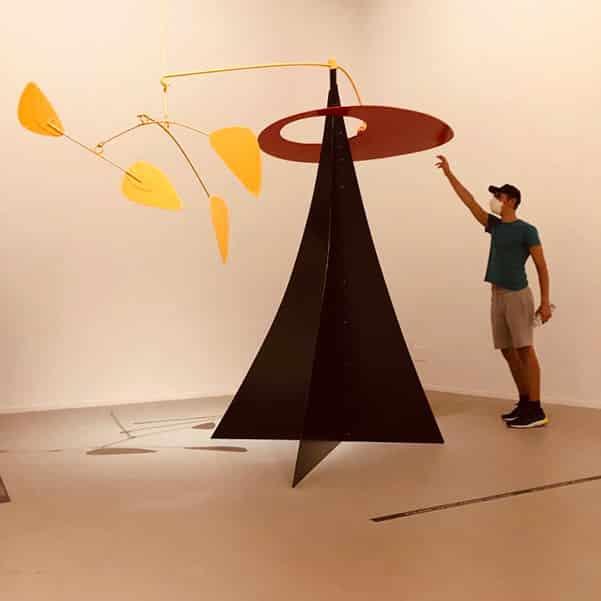 Modern art exhibitions