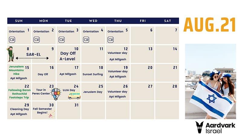 British month - august 16th