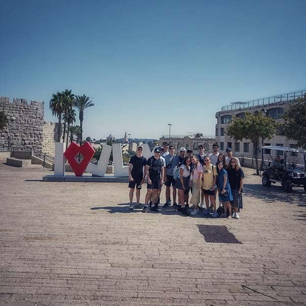Touring jerusalem. What a day!