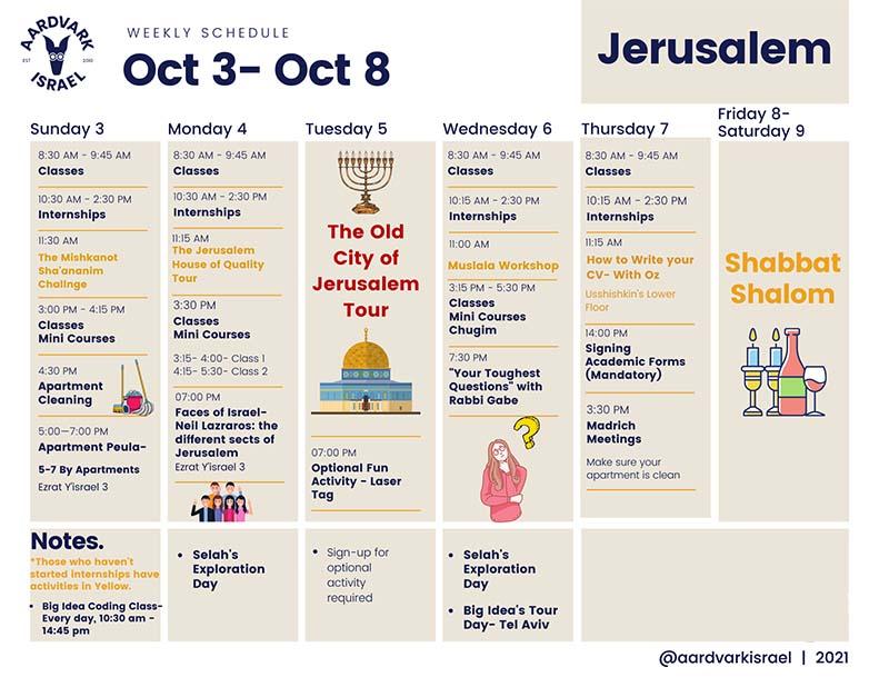 Jerusalem fall 2021