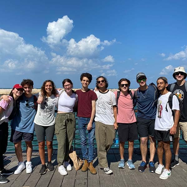 One of our tel aviv groups at jaffa port